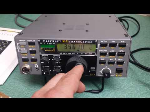 Elecraft K2 QRP Transceiver