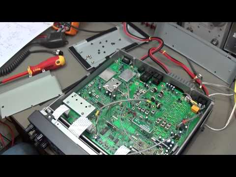 Ham Radio repair: Kenwood TS-570 with different reported problems