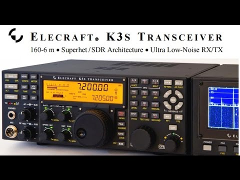New ELECRAFT K3S - Feature and Q&A at Dayton 2015 (engl)