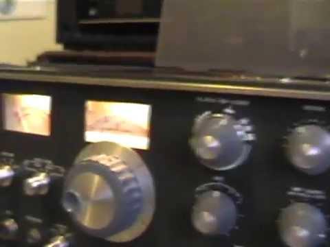 Vintage Ham Radio Trio TS510 del 1970