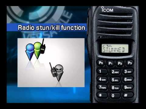 Introduction to the Icom IC-F3022 Two Way Business portable radio
