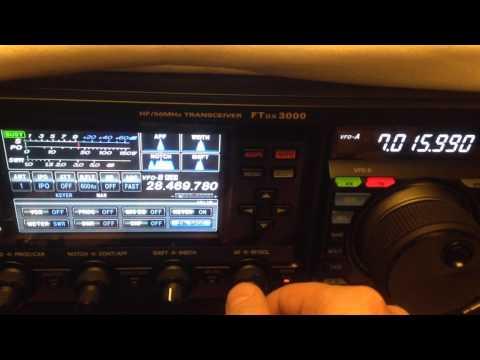 Yaesu Ftdx3000 Vs Elecraft KX3 CW 50 Hz width - IW2NOY