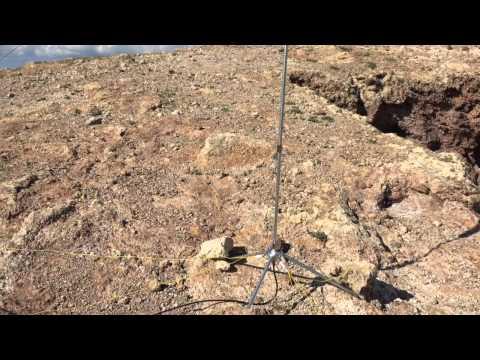 SOTA Activation of Montana Blanca using Elecraft KX3
