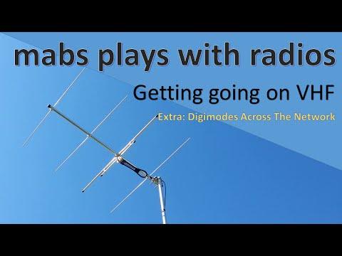 Amateur Radio: VHF E4: WSPR, VNC & Remote shack