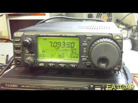 #Radio Comparativa CAT Icom---Yaesu