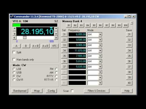 LU8XW Ham Radio Beacon (Ushuaia, Argentina) - 28195 kHz (CW)