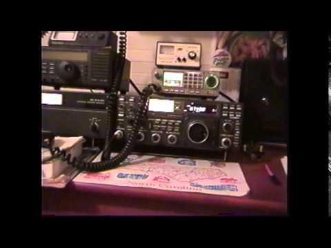 Movie of my ham radio station, November of 2001