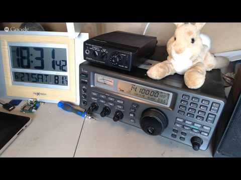 Special amateur radio field day hangout 2015