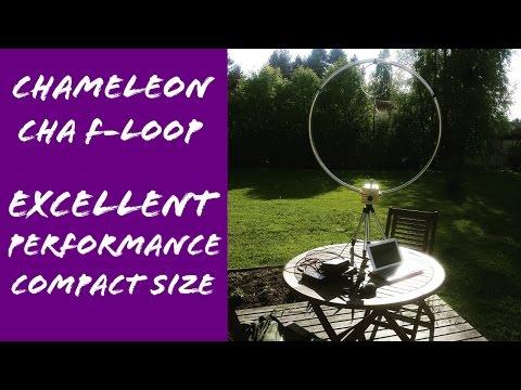 QRP Test Chameleon F-Loop & Yaesu FT-817