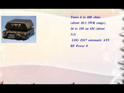 LDG Z 817 QRP Automatic Antenna Tuner for Yaesu FT817