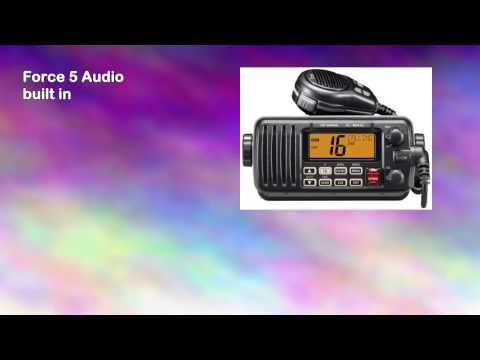 Icom M412 11 Fixedmount 25w Vhf Marine Radio