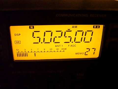Radio Rebelde, 5025 kHz, 02:29 UTC, Icom IC-R75 with T2FD