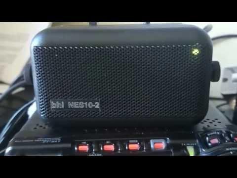 bhi NES10-2 Mk 2 DSP speaker on Yaesu FT-857D