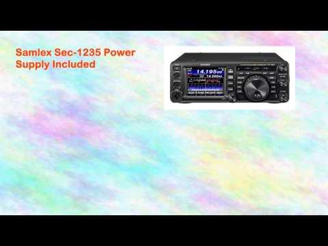 Yaesu Ft991 Radio Yaesu Md100a8x Microphone Samlex Sec