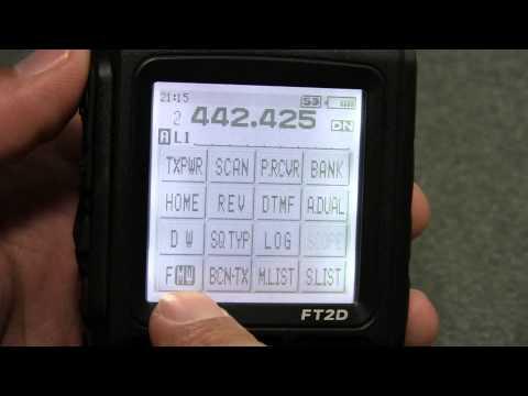 Yaesu FT2D FUSION (FT2DR) Handheld