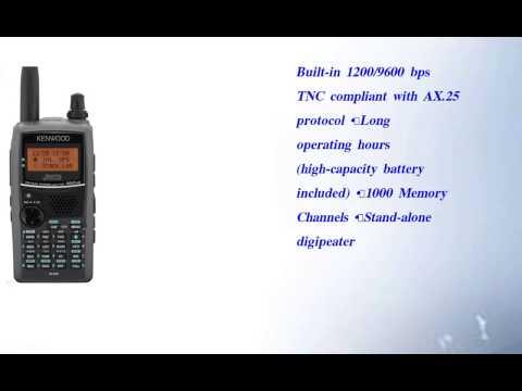 Kenwood TH D72A 144 440 MHz Handheld Amateur Transceiver