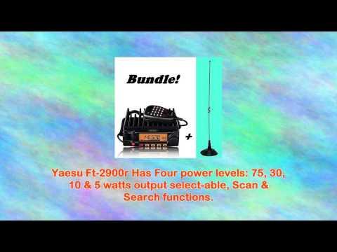 Yaesu Ft2900r Mobile Radio Mfj1724b Mag Mount Antenna