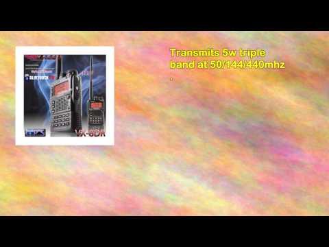 Triple Band 50144430 Yaesu Vx8dr B3 Unblocked Version