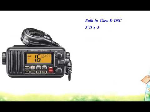 Icom M412 11 Fixed Mount 25W VHF Marine Radio with