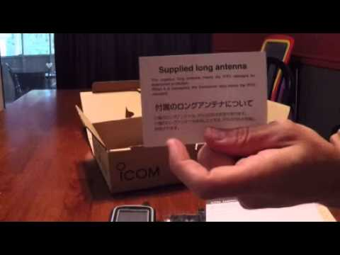 Icom ID-51a anniversary edition unboxing