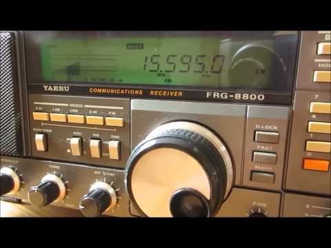 15595 Khz Vatican Radio from Santa Maria di Galeria with nice signal and sound in Germany