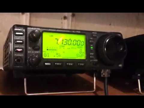 2E0HPI QRP Yaesu FT-817ND 5 Watts 15/7/15
