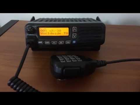 Icom IC-F6061D IDAS Radio Test