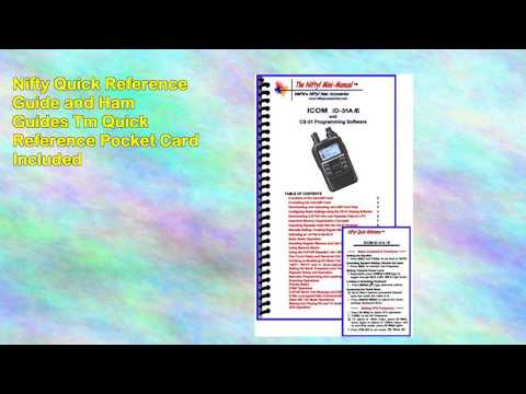 Icom Id31a Radio Nifty Guide Icom Hm75ls Speaker Mic wremote