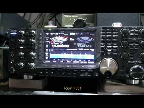 Test Icom 7851 IC 7700 IC 756 pro III
