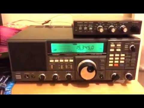 Radio Argentina Exterior 15345 KHz heard in Oxford UK  Yaesu FRG8800