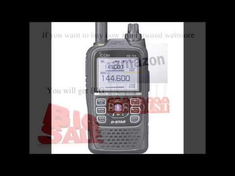 Icom Original ID-51A PLUS 144/440 Digital/Analog Hanheld Transceiver