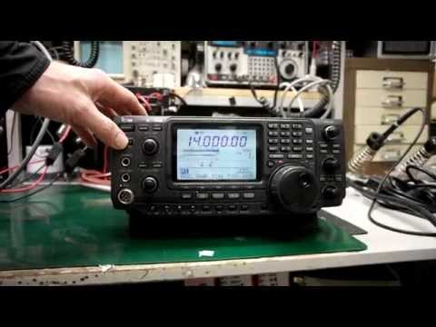 Icom IC-746 Receive and Output Test