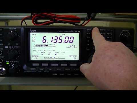 ICOM IC-7410 - Recepção estações comerciais