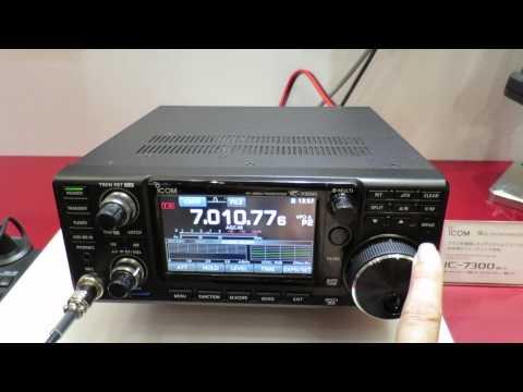 ICOM unveiled IC-7300 at Tokyo Ham Fair 2015