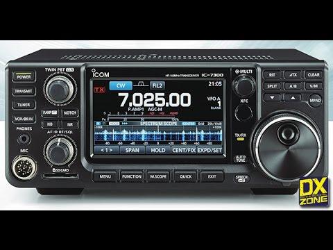 The new Icom 7300 HF radio
