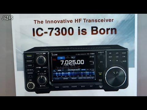 ハムフェア2015 アイコム篇 IC-7300 / IC-7851 TOKYO HAM RADIO FAIR 2015 (ICOM Booth)