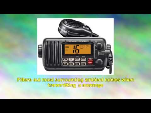 Icom M412 11 Fixedmount 25w Vhf Marine Radio with Class