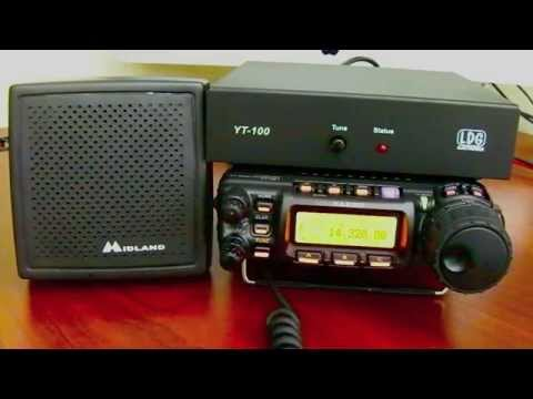 How To Connect The LDG YT 100 Autotuner To The Yaesu FT 857D Plus QSO 9-2-2015