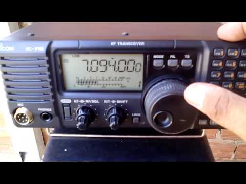 ICOM IC 718 EM 40Mts