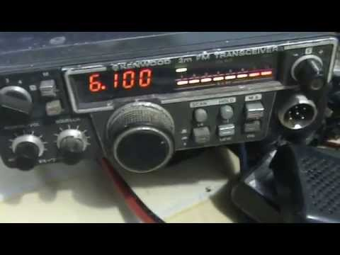 Kenwood Trio TR 7730  Old Rig Radio