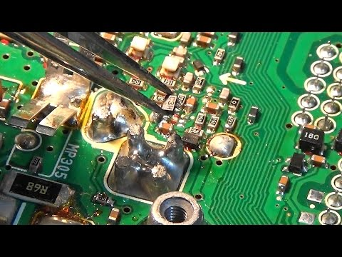 Ham Radio Repair: ICOM IC-7000 with deaf UHF RX