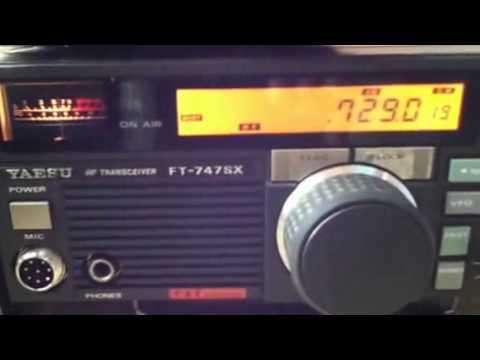 TRIO KENWOOD R-1000 vs YAESU FT-747SX vs FT-817ND 729kHz NHK名古屋第一放送