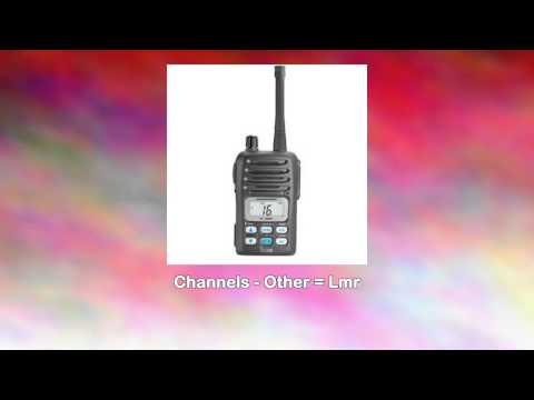 The Amazing Quality Icom M88 Mini Handheld Vhf Radio