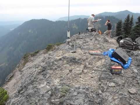 Craggy Peak SOTA Ham Radio Expedition KF7UOQ KG7FPJ KG7MZ