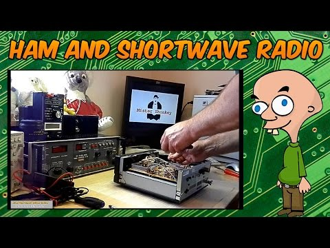 Shortwave - Yaesu FRG-100 DC Socket Replacement - Part 2.