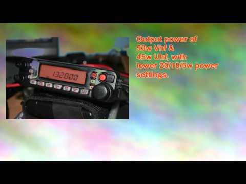 Yaesu Ft7900r Mobile Dualband Amateur Ham Radio 50w45w Vhfuhf Transceiver