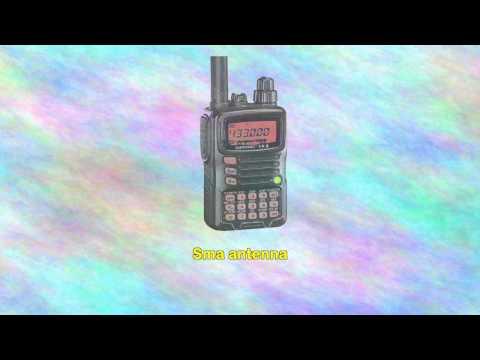 Yaesu Vx6 Submersible Amateur Ham Radio Transceiver