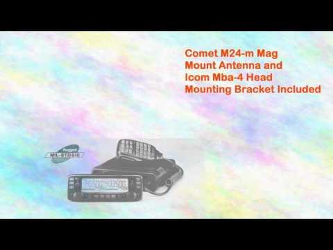 Icom 2730a Radio Programming Softwarecable Comet M24m Mag Mount Antenna
