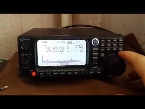 Yaesu VR-5000 28MHz (SSB) Ham Radio Band (10m) + DSP function