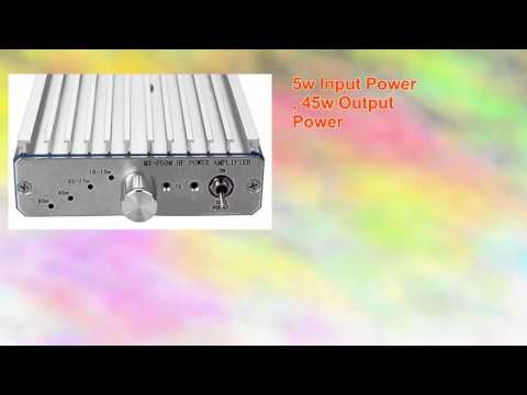 45w Hf Power Amplifier for Qrp Radio Ft817 Ic703 Kx3